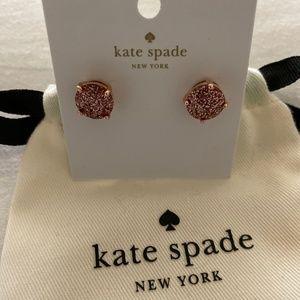 Kate Spade New York Pink Sparkle Earrings